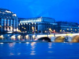 Photo of Paris Seine River Cruise: Bateaux Parisiens Sightseeing Cruise Taken as the sun set from the Seine Cruise