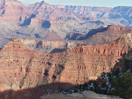 Photo of Las Vegas Grand Canyon South Rim by Tour Trekker The little snow path