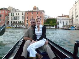 Start of our Gondola ride and serenade on a pleasant evening., Jonathan B - October 2010