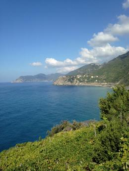 This was our view during the hike between the towns Corniglia and Vernazza. , Geri B - October 2014