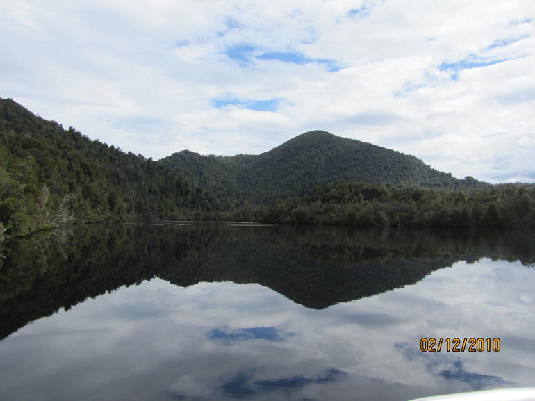 View from Gordon River Cruise - Tasmania