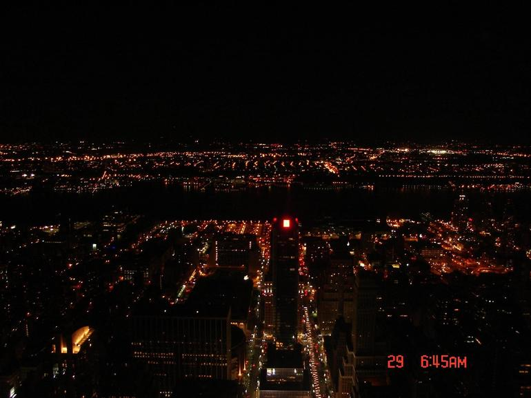 View of New York City from Empire State Building - New York City