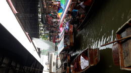 Photo of Bangkok Floating Markets and Rose Garden Cultural Center Day Tour from Bangkok Wet floating market
