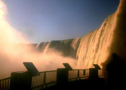 Photo of New York City 2-Day Niagara Falls Tour from New York by Bus A walk behind the fall