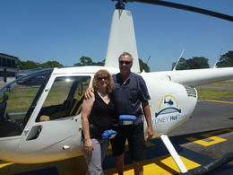 Photo of Sydney Private Tour: Sydney Helicopter Flight and Sydney Harbour Lunch Birthday flight and Lunch!!!