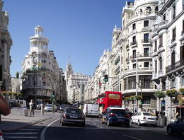 Photo of Madrid Panoramic Madrid Sightseeing Tour Grand Via