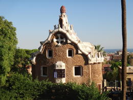 Ginger Bread House, one of Gaudi's fun works. , huntnreid - October 2012