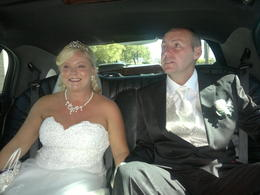 Photo of Las Vegas Las Vegas Wedding at A Special Memory Wedding Chapel In the Limo provided