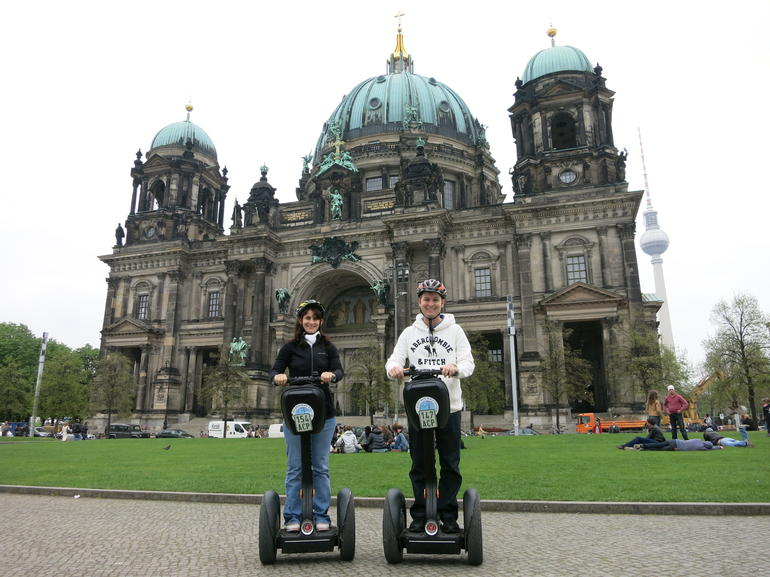 On our segways - Berlin