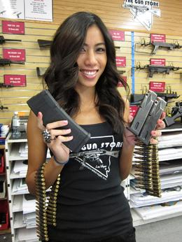 Photo of   Our Hostess, with Ammo