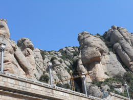 Photo of Barcelona Montserrat Royal Basilica Half-Day Trip from Barcelona Rock Structure
