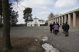 Entrence to Sachenhausen concentration camp. , Michael L - March 2013