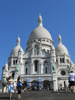 This beautiful church is on top of Montmartre - July 2010