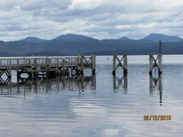 Photo of Tasmania Gordon River Cruise from Strahan Sarah Island