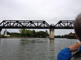 The famous bridge over the River Kwai. Very moving story. , ANDY O - August 2012