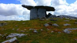 The Neolithic Dolmen we visited while in the Burren area , Anna R - June 2015
