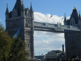 Tower Bridge as we walked along from the Tower , Susan H - January 2015