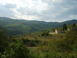 Photo of Florence Chianti Region Wine Tasting Half-Day Trip from Florence View from Castello del Trebbio