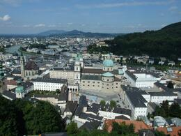 Photo of Munich Salzburg Small Group Day Tour from Munich View from the Salzburg fortress