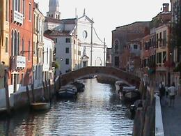 Photo of Venice Venice Gondola Ride and Serenade A Typical Venetian Bridge