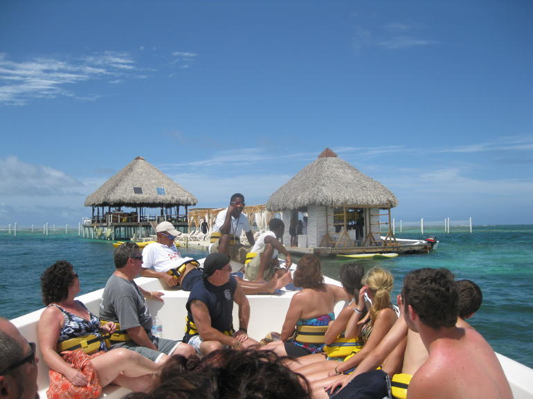 Boat ride to the dock - Punta Cana