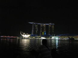 Photo of Singapore Singapore Night Sightseeing Tour with Gardens by the Bay, Bumboat Ride and Bugis Street Bum boat ride scene