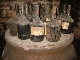 Taken in the cellars at the Castello.Some of many, many bottles, Maria A - November 2009