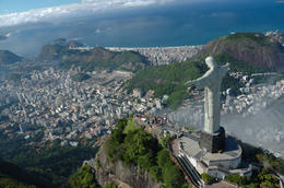 Photo of Rio de Janeiro Corcovado Mountain and Christ Redeemer Statue Half-Day Tour Christ the Redeemer Statue