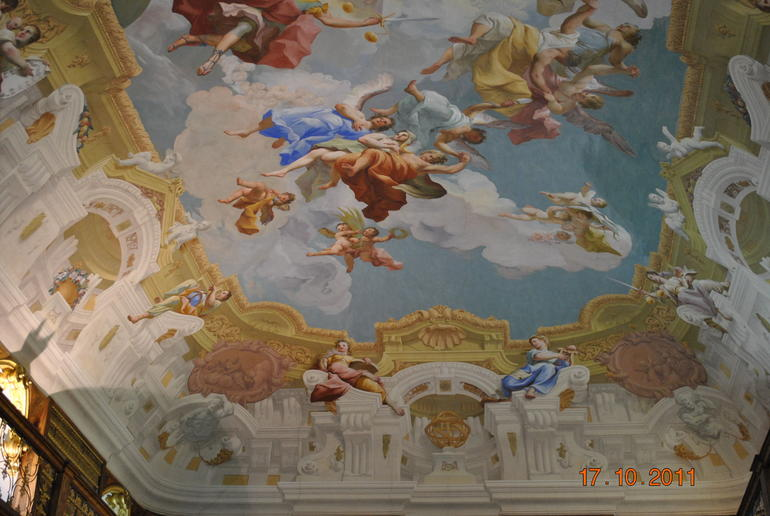 Frescos at Melk Abbey - Vienna