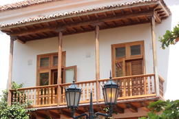 Typical looking house in Cartagena., Bandit - September 2012