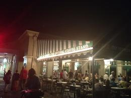 "If the crowds are too thick during the day, don't forget Cafe du Monde is open 24/7...sometimes the best time to go is in the evening for an after dinner dessert or a fun late night ""people ... , Tara K - July 2012"