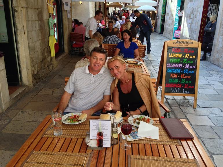In Old Town - Dubrovnik