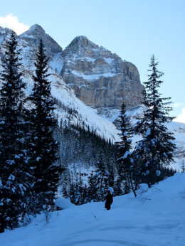 Photo of   Lake Louise Cliff