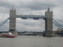 Tower Bridge. On the cruise, Louise G - August 2010