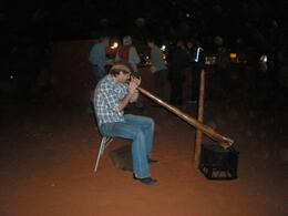 Great magical sounds for a wonderful evening under the stars at Ayers Rock, Ann C - July 2009