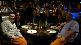 Australians and Irish, dine with the Brits in France. How multicultural. , Gary - May 2011