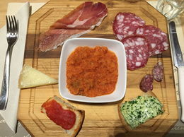 Yum! Antipasti at Montalcino. , lani85715 - April 2016
