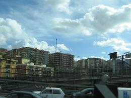 Naples from the bus, yes it all looks like this! - October 2007