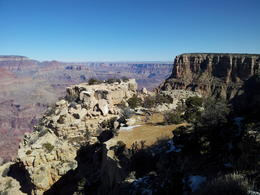 Not sure which East Rim Drive vista this was taken from - possibly Moran. , Jeff K - February 2013