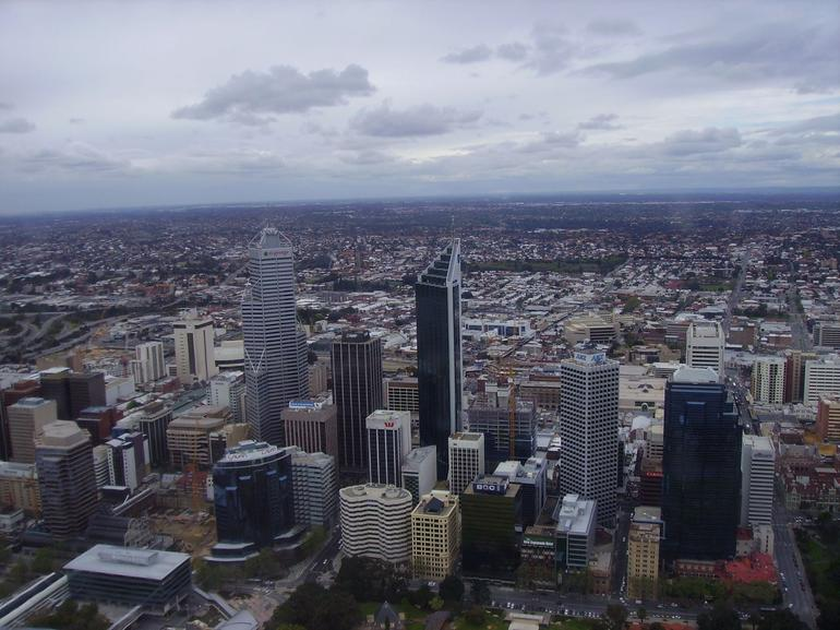 Perth Helicopter Tour - The city - Perth