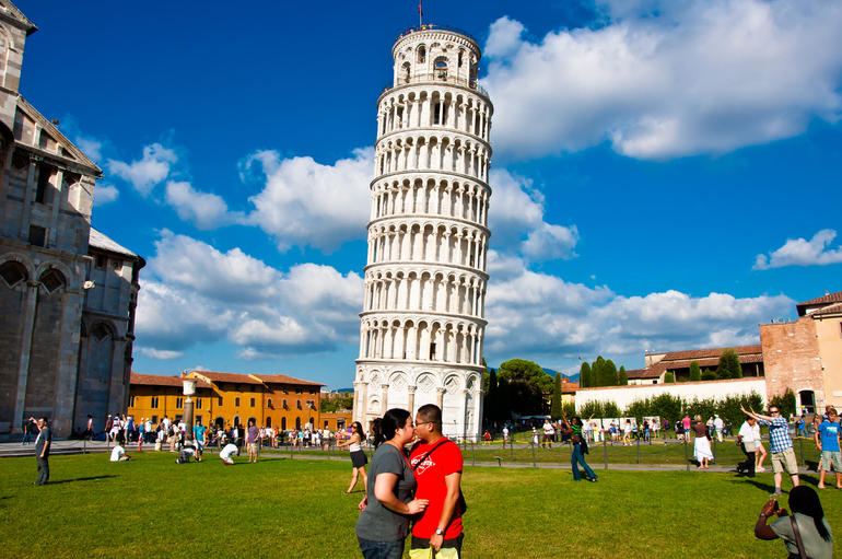 Pisa (Optional Tour) - Rome