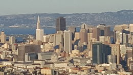 Awesome view of San Francisco from Twin Peaks , Anne O - December 2015