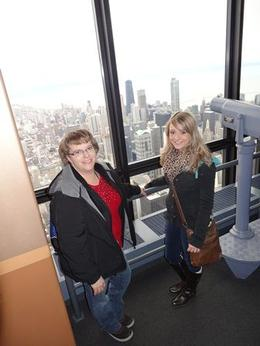 Photo of Chicago Skydeck Chicago Admission SkyDeck 12/8/12