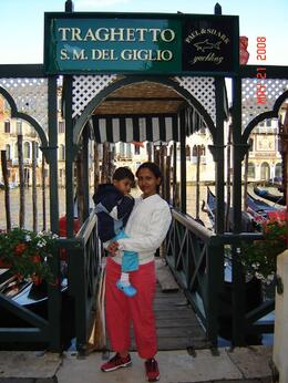 SM Del Giglio, the pier from which our Venice gondola ride started and ended., Nabarun N - June 2008
