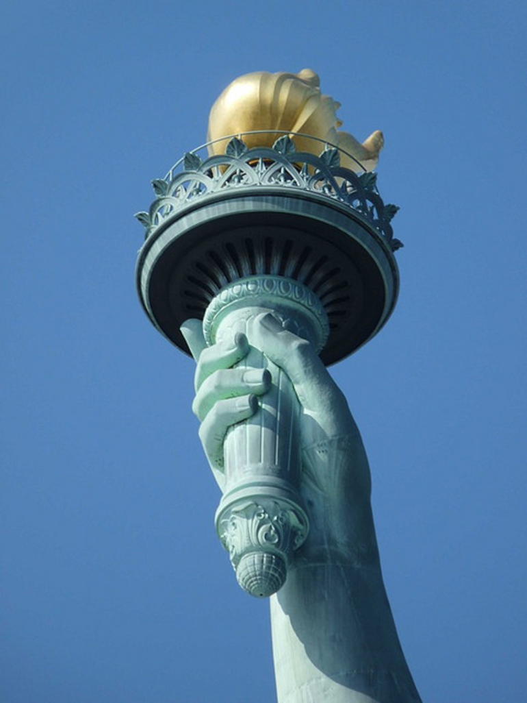 Statue of Liberty Torch - New York City