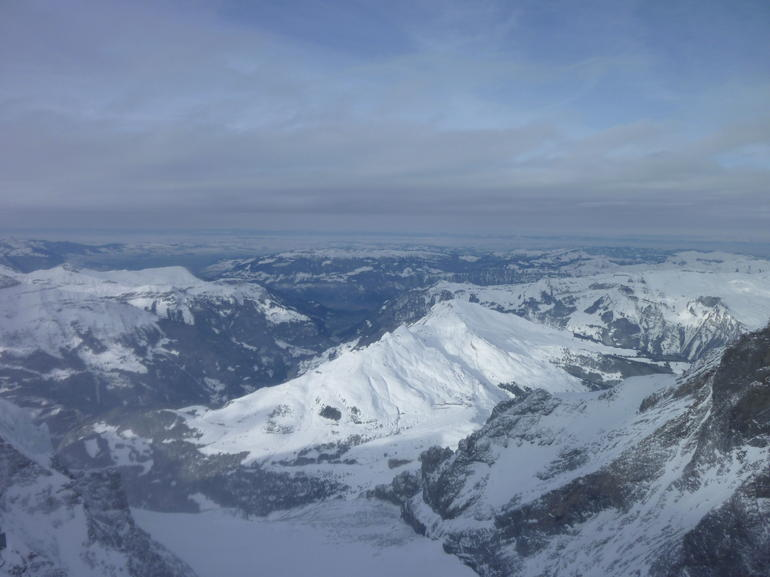 The amazing view from the top of Europe - Jungfrau -