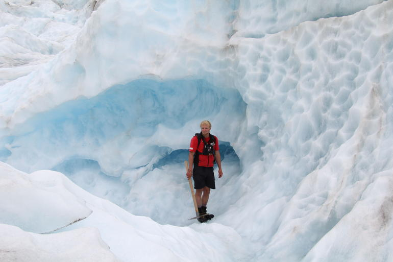 This way - Franz Josef & Fox Glacier