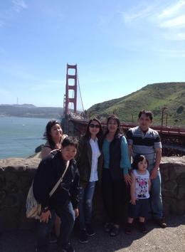 Photo of San Francisco San Francisco Deluxe Half-Day City Tour very happy