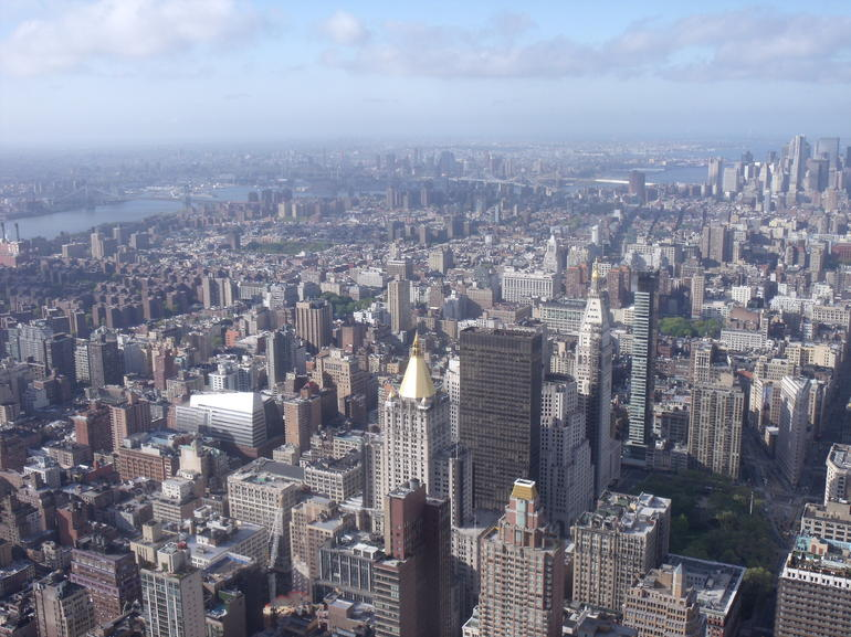 Vue de l'empire state - New York City
