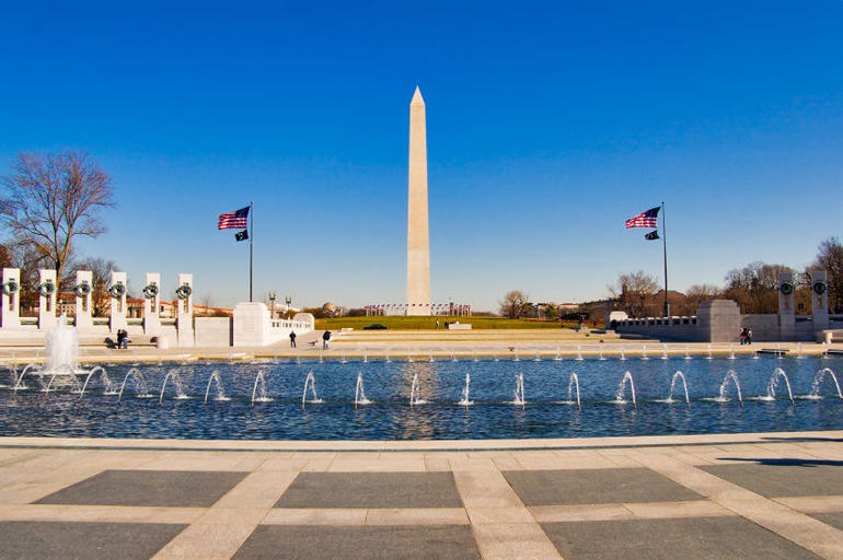 National Mall: World War II Memorial, Washington D.C. - Washington DC